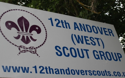 12th Andover (West) front gate sign