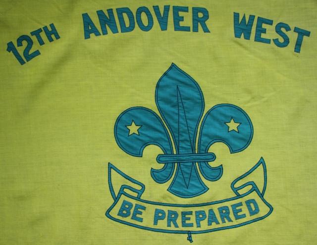 12th Andover (West) Cub Scout flag emblem