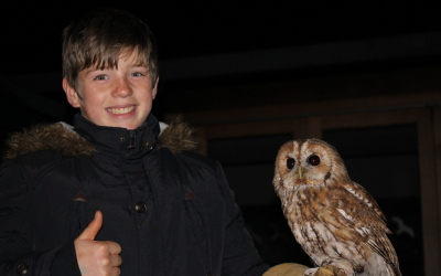 James and Tawny owl