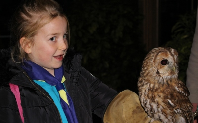 Keira and Tawny owl