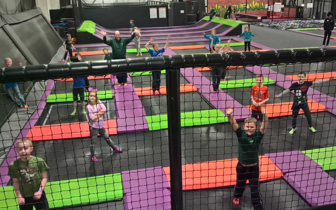 Cubs Visit The Jump Factory