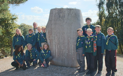 Scouts on Brownsea