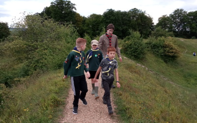 Cubs Danebury Hill Fort June 2019 (14)