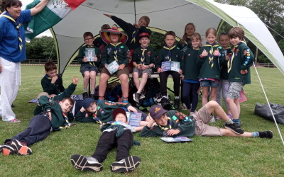 District Cub Jamboree Activity Day 30/06/2019.