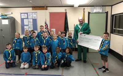 Beavers donate to Macmillan Cancer Support
