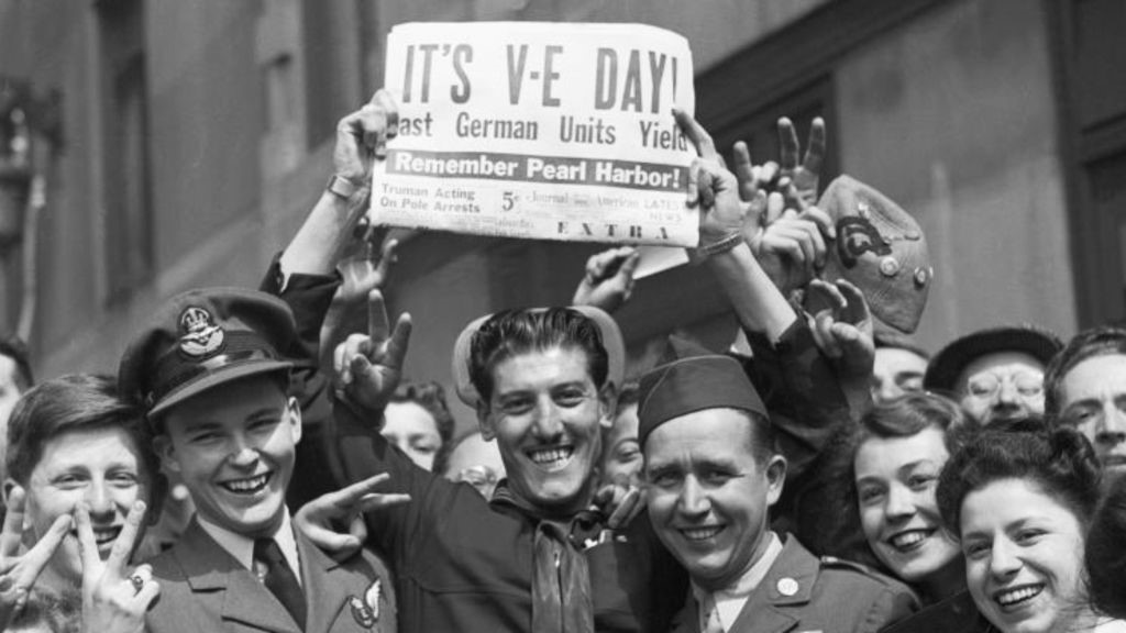 Help celebrate VE day on May 8th with the 12th