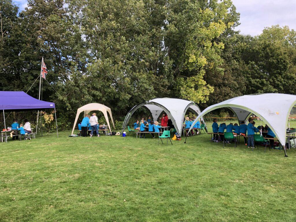 Beaver tents