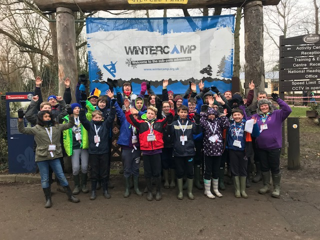 Scout Winter Camp 2018