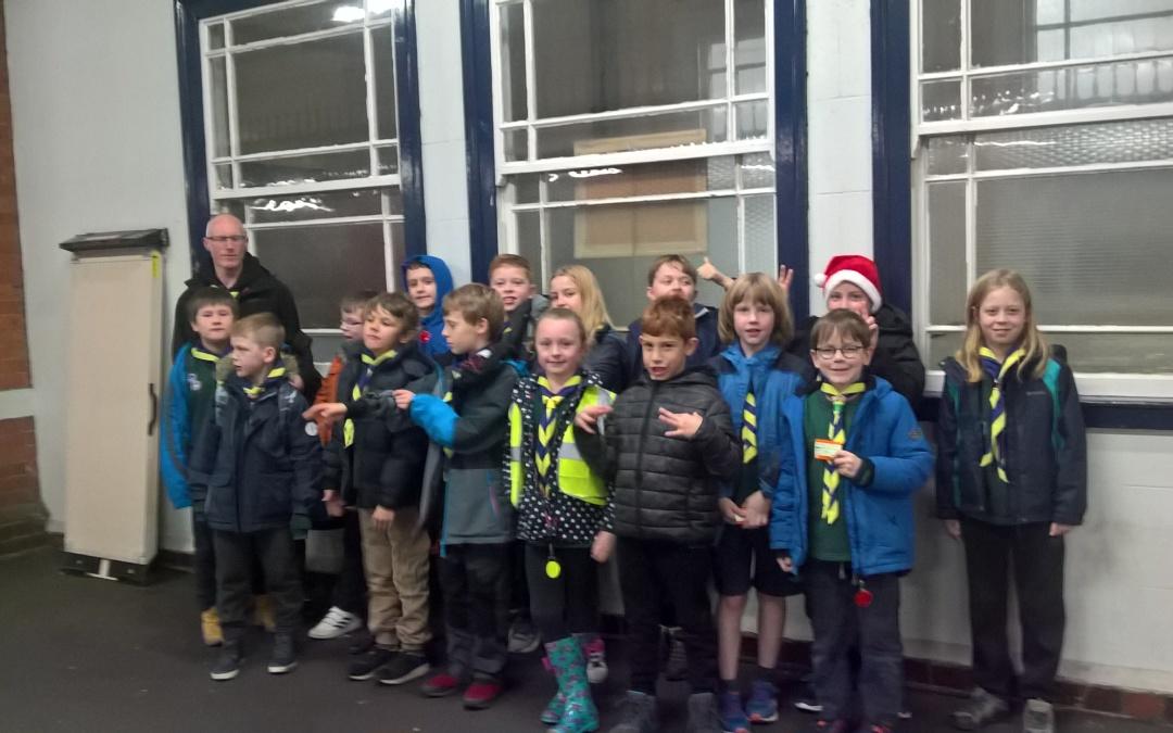 Cubs at the Salisbury Christmas Lantern Parade