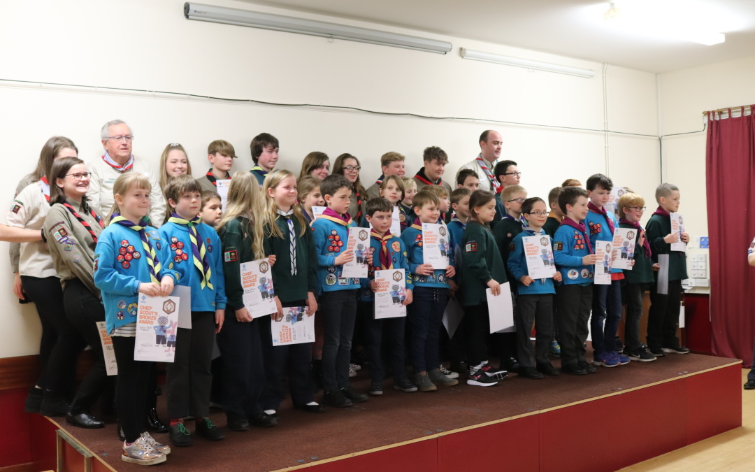 More Chief Scout Awards for the 12th