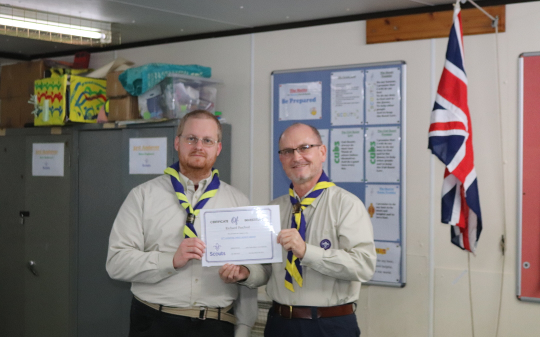 The 12th gains another Scout Leader