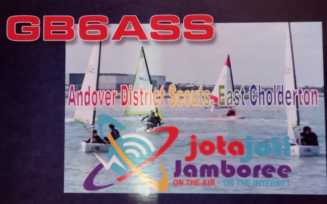Groups takes part in JOTA/JOTI !